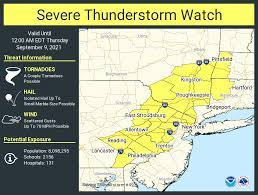 """NWS Mount Holly on Twitter: """"A severe ..."""