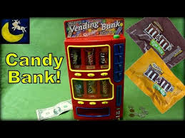 Vending Machine Bank Delectable MM's Brand Candy Vending Machine Bank For Kids Snickers Twix