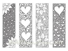 Bookmark Coloring Pages Bookmark Coloring Pages For Kids And For Adults Coloring