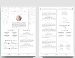 One Page Resume Format Doc Simple Two Template Creative Templates ...