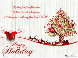 Holiday Greetings Quotes Adorable Happy Holiday Wishes Quotes Quotesgram Holiday Greetings Quotes