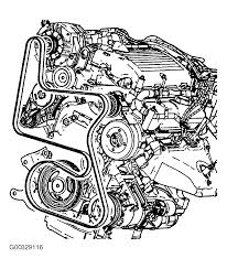 2004 chevrolet bu serpentine belt routing and timing belt diagrams serpentine and timing belt diagrams