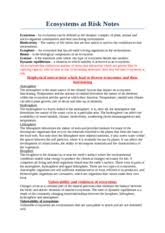 ecosystems at risk essay   geography essay in terms of ecological  pages ecosystems at risk notes gbr and dunes