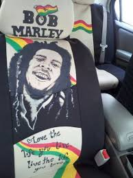 bob marley cat cover seat covers