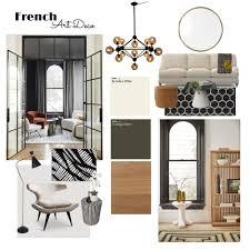 French Art Deco Interior Design Mood Board by Alyssa Hunt | Style Sourcebook