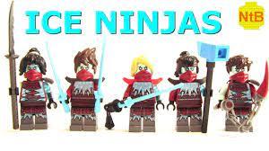 LEGO NINJAGO SEASON 11 CUSTOM ICE NINJA MINIFIGURES - YouTube