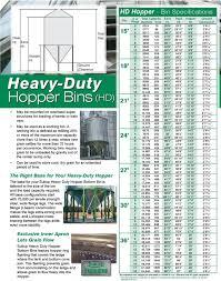 Grain Bin Size Chart Grain Bins Farm Commercial Hopper Bottom Pdf Free Download