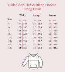 Gildan 6 1 Oz Long Sleeve Size Chart Size Charts Gift For Crush