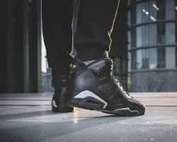 jordan 6 black cat. air jordan 6 \u201cblack cat\u201d on feet black cat