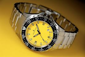 prometheus watch company prometheus jellyfish automatic tritium prometheus watch company jellyfish diver automatic mens diver watch yellow dial