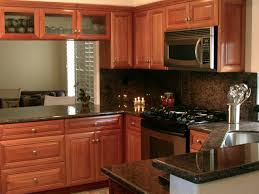 natural cherry wood kitchen cabinetry traditional kitchen
