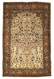 antique persian mohtasham kashan tree of life rug authentic persian rug santa barbara design center carpet