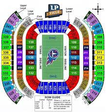 Nissan Stadium Cma Fest Seating Chart Nissan Stadium Nashville Tn Seating Chart View