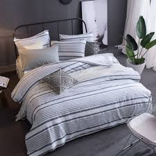 white and blue fl bedding and other