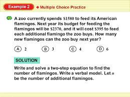solution example 2 multiple choice practice 2 3 6 4