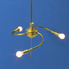 bb 900 3 arm contemporary bare bulb chandelier