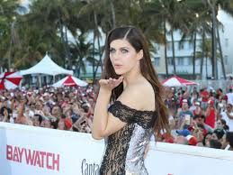 Alexandra Daddario on her very first nude scene doing improv for.