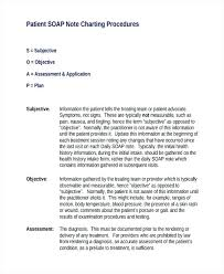 Soap Notes Example Mental Health Assistant Sample Resume Chief Note
