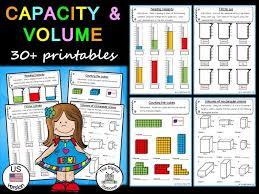 Us Volume Conversion Chart Capacity And Volume Us Version 30 Printables