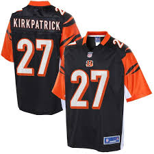 Color Men's Kirkpatrick Nfl Bengals Pro Cincinnati Team Dre Jersey Line