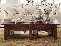 dark brown coffee table. Dark Brown Furnished Rectangle Long And Low Coffee Table Centerpiece Rustic Wood With Drawers
