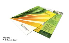 paper flyer attractive flyer design printing online with flyer templates