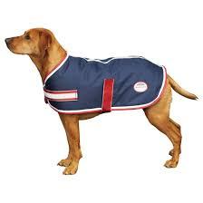 weatherbeeta parka 1200d dog rug navy red white