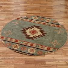 Small Picture Southwest Diamond Round Rugs