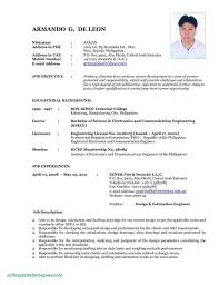 Seafarer Resume Sample example of resume for seaman Your Prospex 12