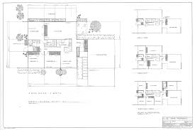 Gallery of AD Classics  Steel Pre Fab Houses   Donald Wexler   AD Classics  Steel Pre Fab Houses Plan