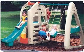 plastic outdoor backyard children swing childrens playsets slides ireland