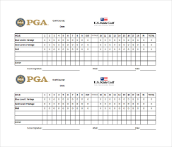 Golf Score Card Template Scoreboard Template 10 Free Psd Pdf Eps Excel Documents