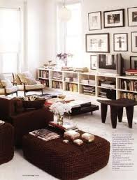 wall to wall low bookshelves