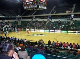 Convocation Center Eastern Michigan University Section