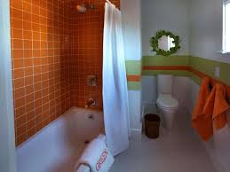 Kids Bathroom Vanities Bathroom 2017 Design Simple Kids Bathroom Decor Plaid Orange