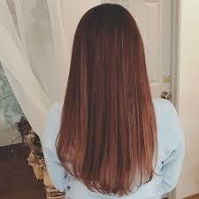 浦川 由起江さんのヘアスタイル ピンクアッシュストレート