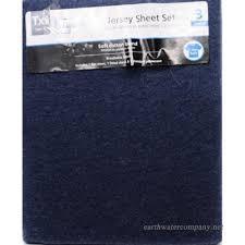 mainstays jersey knit sheet set navy