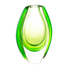 Small Picture Emerald Art Glass Vase Wholesale at Koehler Home Decor