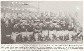 death of tom mcnicholas last surviving member of o s 1936 team tom was