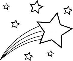 shooting star coloring page. Fine Star Shooting Stars Coloring Page Picture  Pages For Kids On Star H