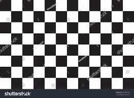 Checkered Design Checkered Racing Flag Symbolic Design End Stock Vector 506908999