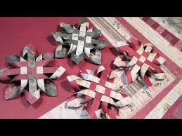 paper snowflakes 3d 3d paper snowflake ornament youtube