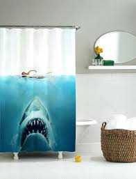 shark shower curtain pottery barn shark shower curtain giraffe riding