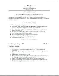 Resume Sample For Technician Resume Sample For Technician It ...