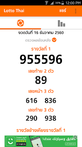Thai Lottery Result Chart 2016 Full Thai Government Lottery Today William Gaver Goldsmiths