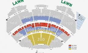 50 Valid Shoreline Amphitheater Seating Chart
