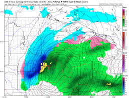 An Intense Winter Storm Will Cross The Central Plains And
