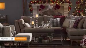 Rustic Luxe Holiday Living Room | hayneedle.com - YouTube