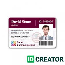 identity card template word company id card template word templates data simple free