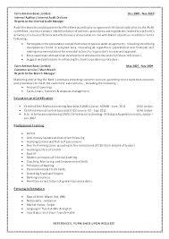 Sample Resume For Internal Auditor Internal Audit Manager Resume